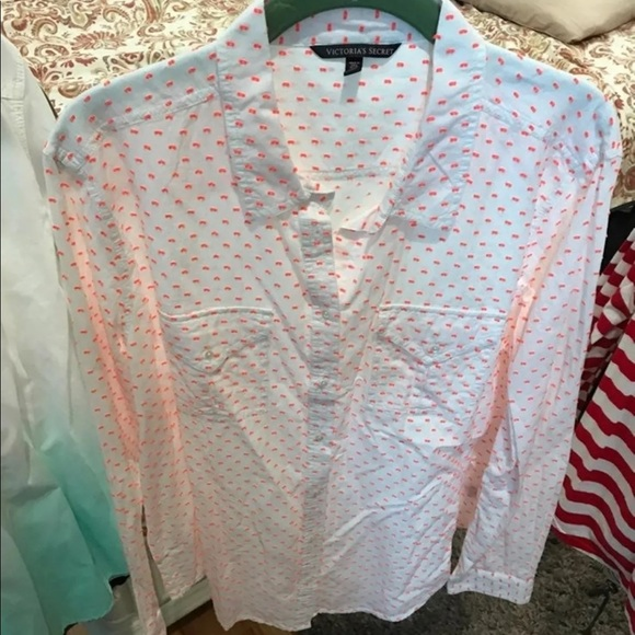 Victoria's Secret Tops - Victoria's Secret button down shirt women's xl
